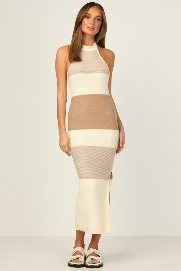 Maverick Dress (Tan)