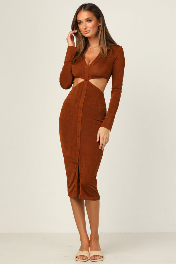 Maja Dress (Copper)