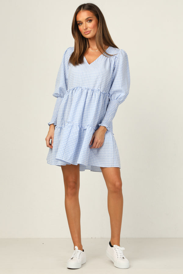 Ingrid Dress (Blue)