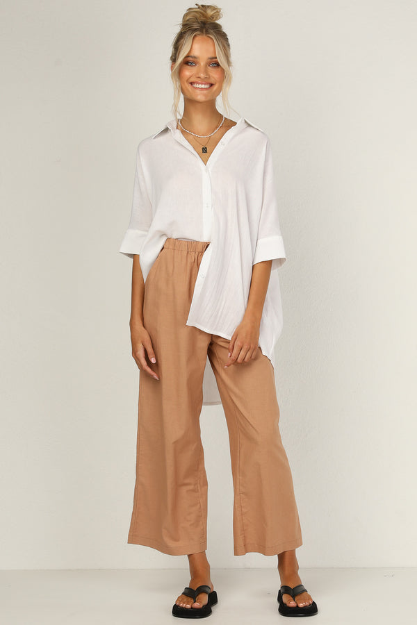 Bella Pants (Terracotta)
