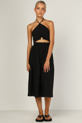 Liberation Midi Skirt (Black)