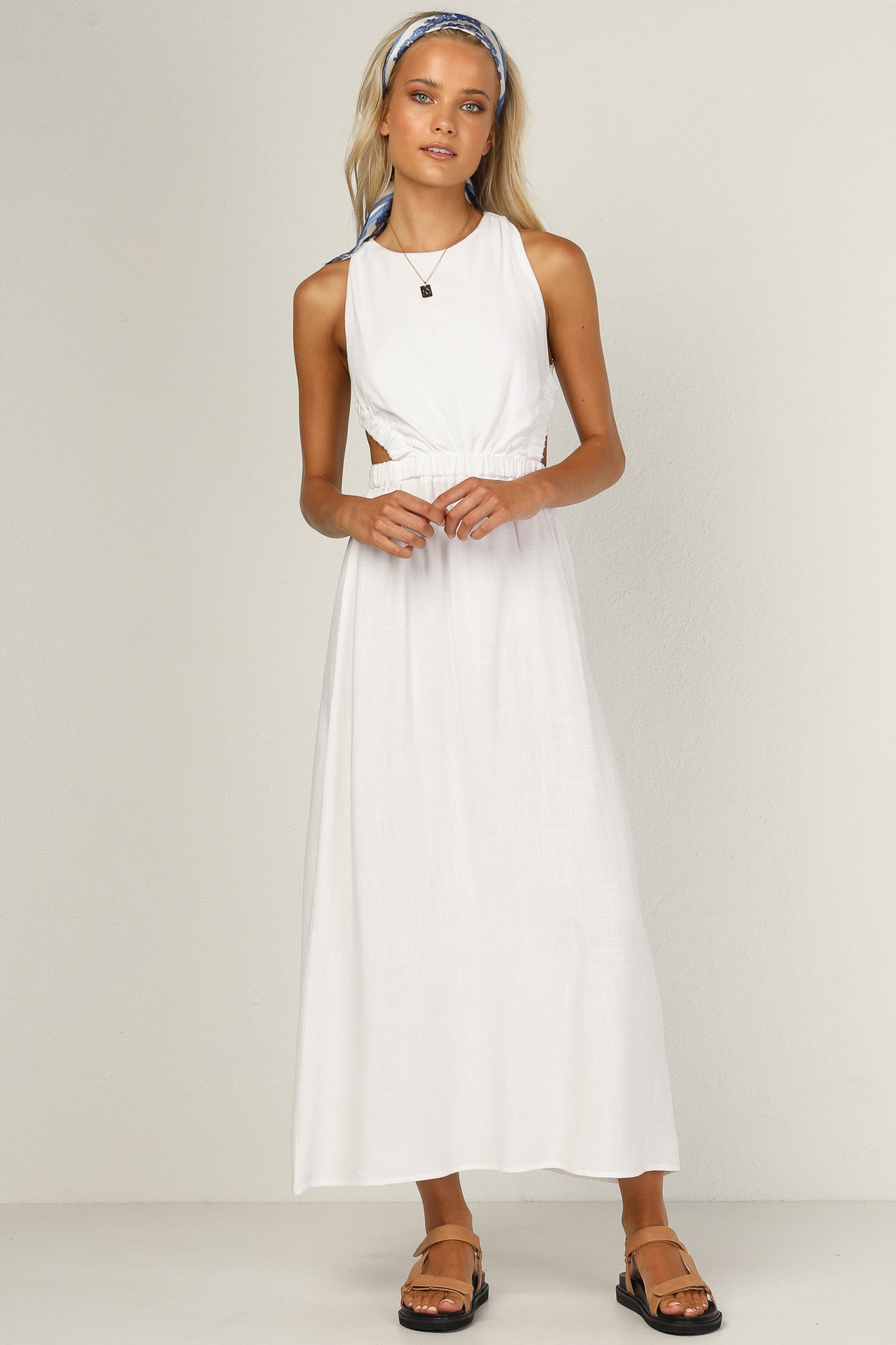 Evelyn Dress (White)