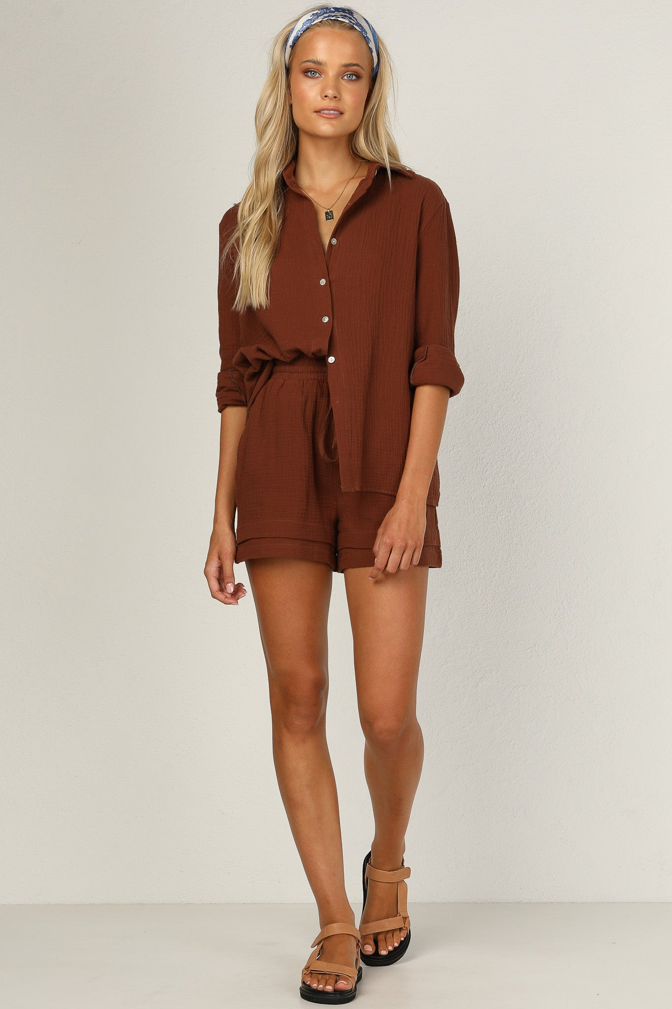Cool Breeze Top (Chocolate)