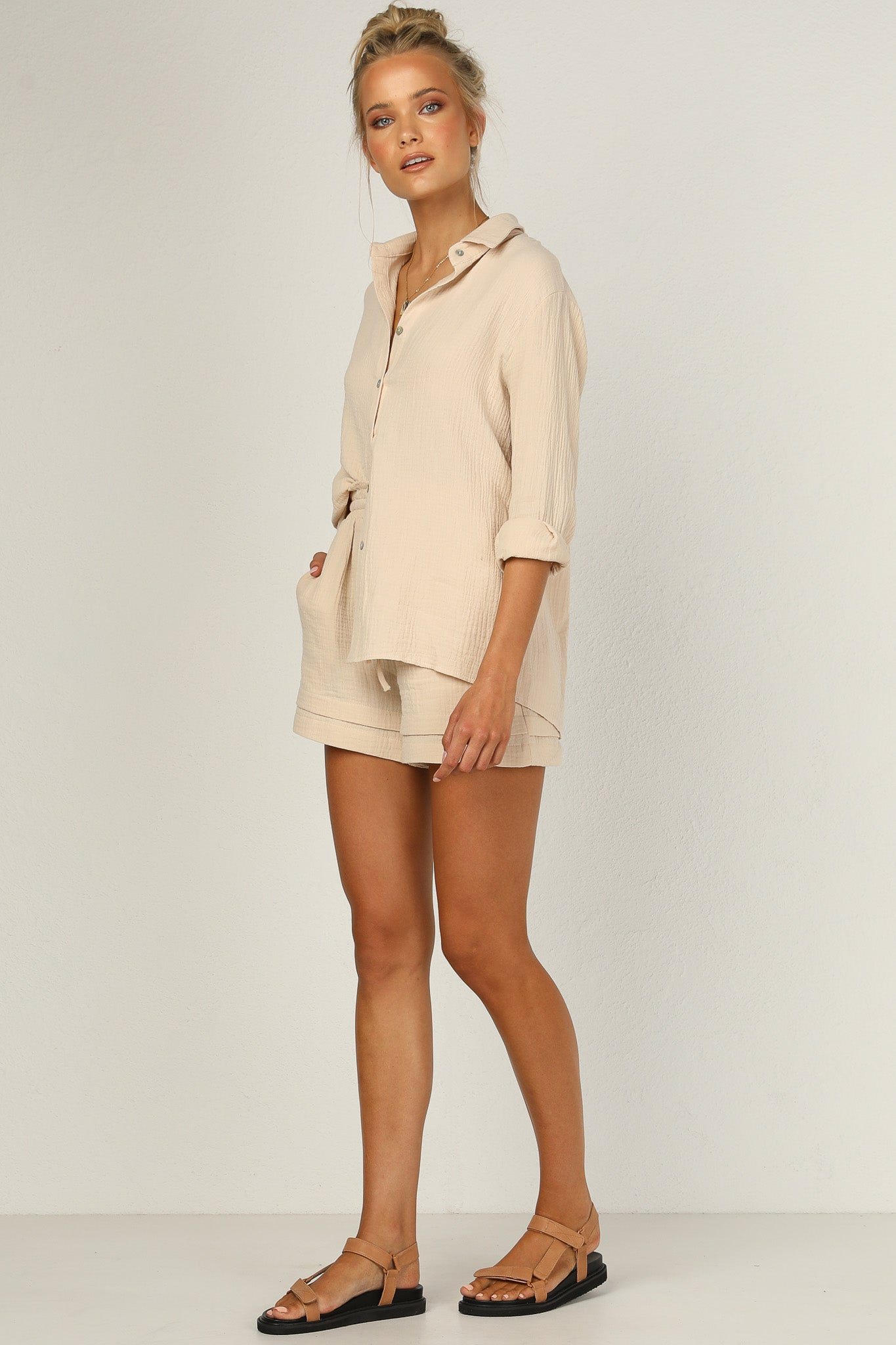 Cool Breeze Top (Beige)