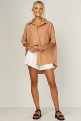 Bella Shirt (Terracotta)