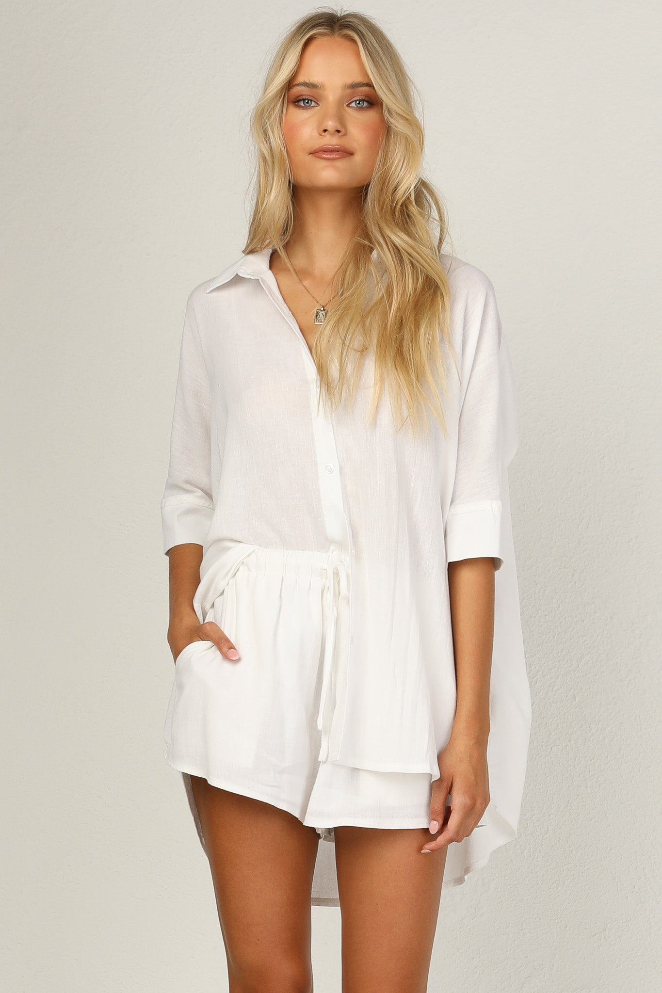 Bella Shirt (White)