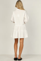 Set The Standard Dress (White)