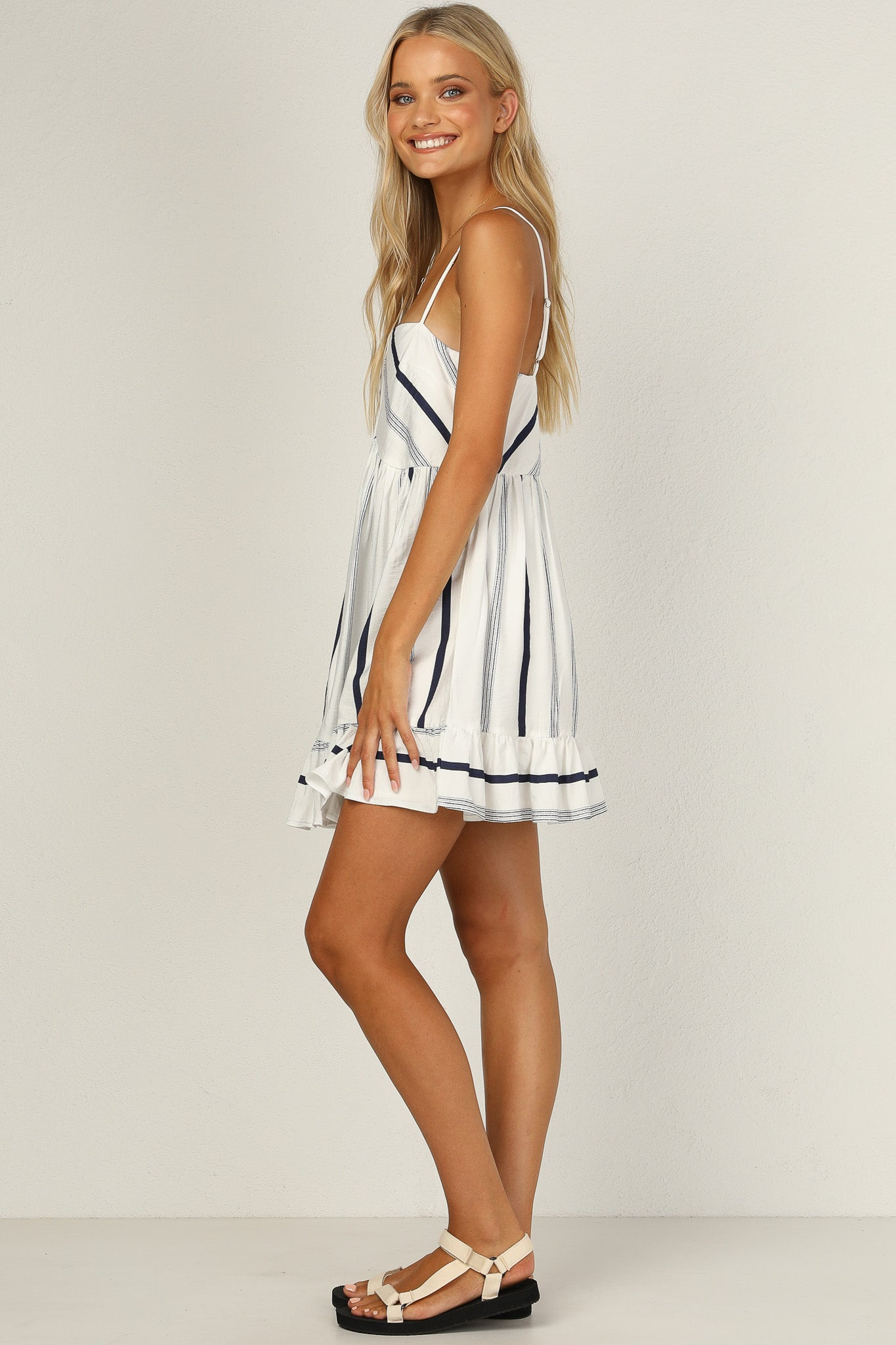 Here and Now Dress (Navy)