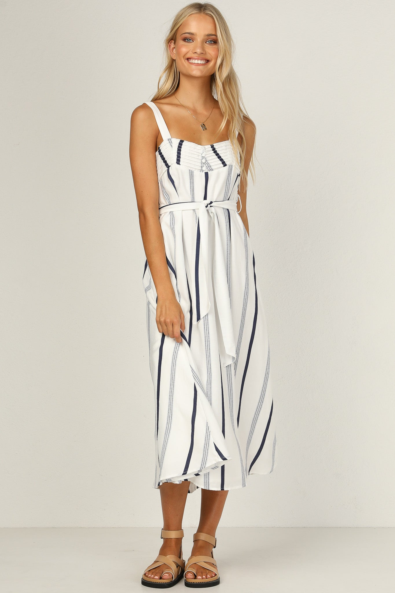 Josie Dress (Stripe)