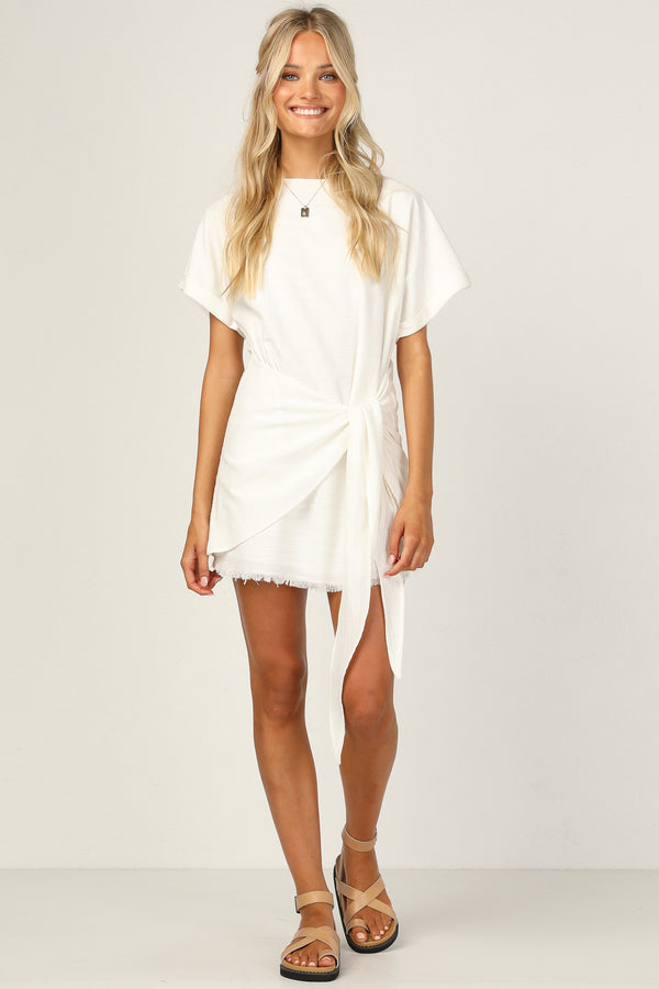 Gabby Dress (White)