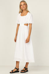 Majella Dress (White)