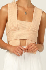 Evie Top (Peach)