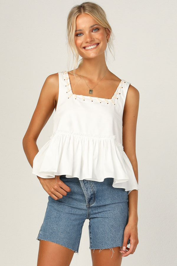 Scout Top (White)