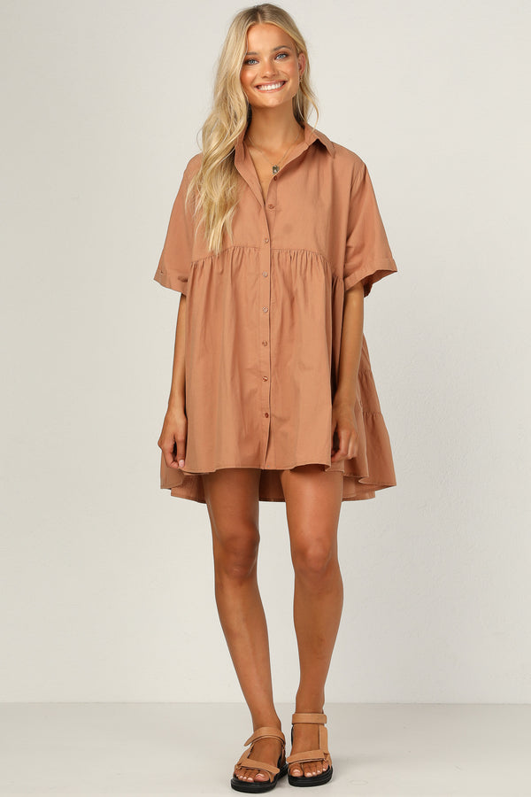 Ashley Dress (Rust)