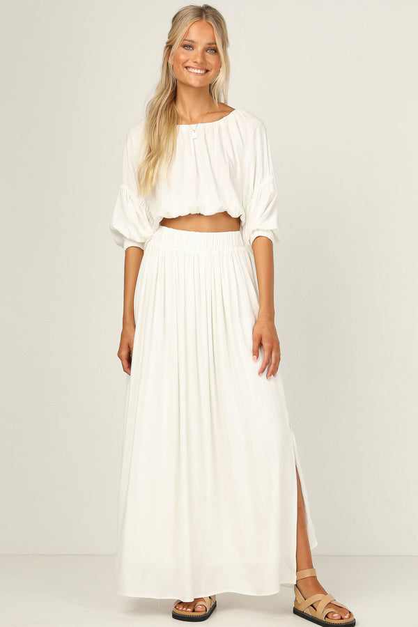 Bowie Skirt (White)