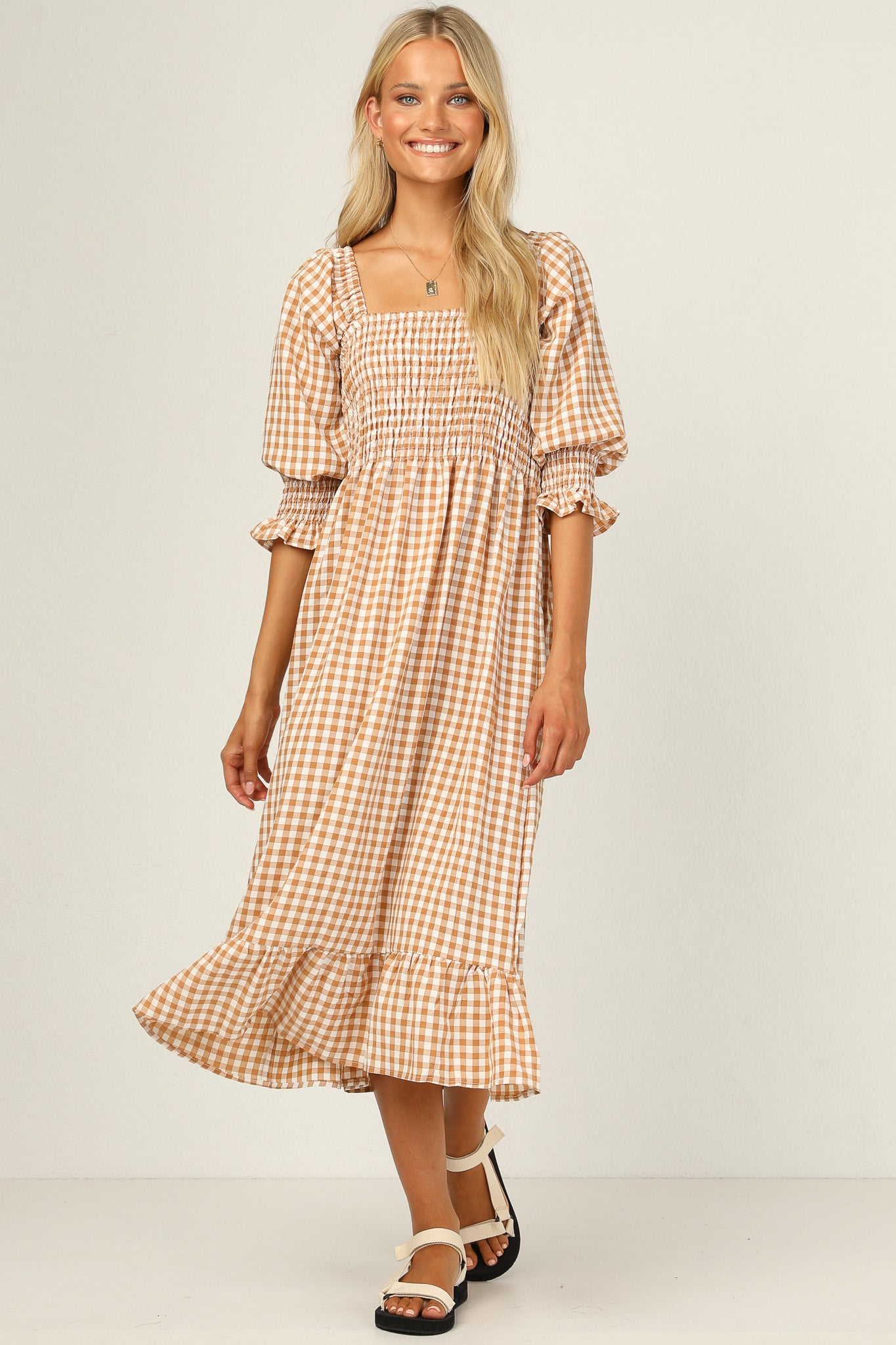 Chloe Dress (Gingham)