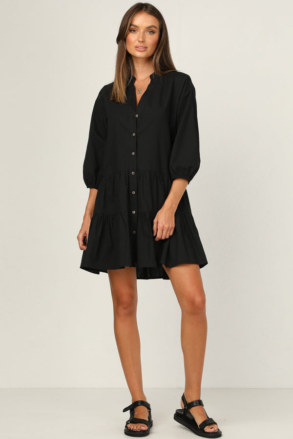 Set The Standard Dress (Black)