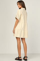 Celine Dress (Beige)