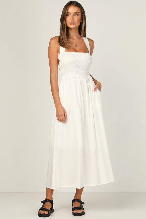 Millie Dress (White)