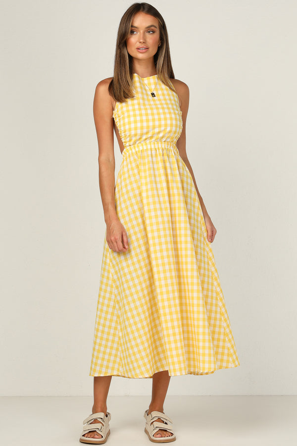 Lacey Dress (Lemon)