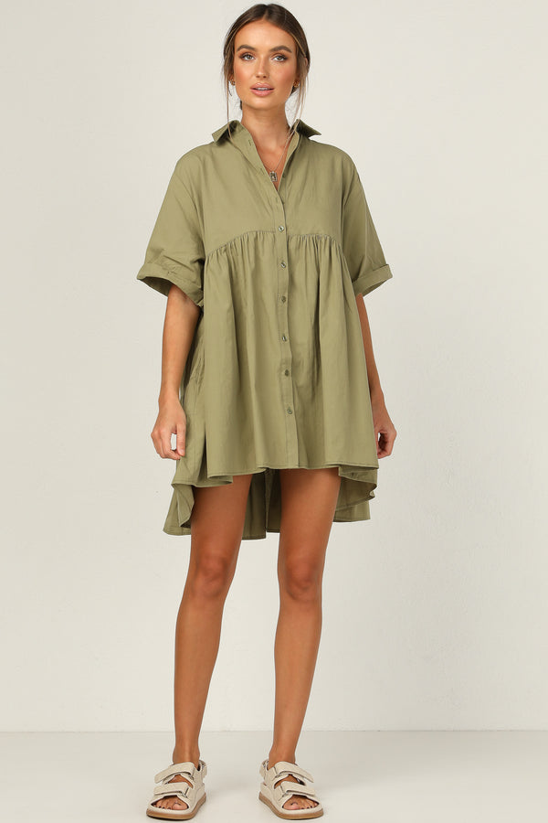 Ashley Dress (Khaki)
