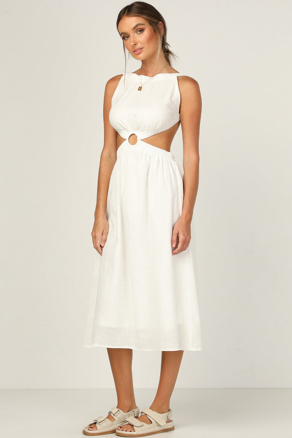 Fallon Dress (White)