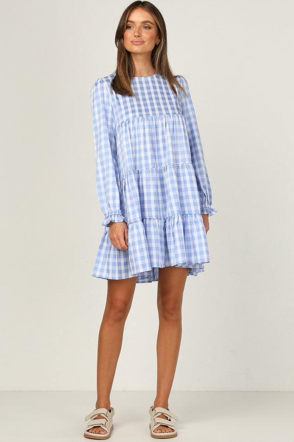 Aisha Dress (Blue)