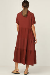 Jonah Dress (Chocolate)