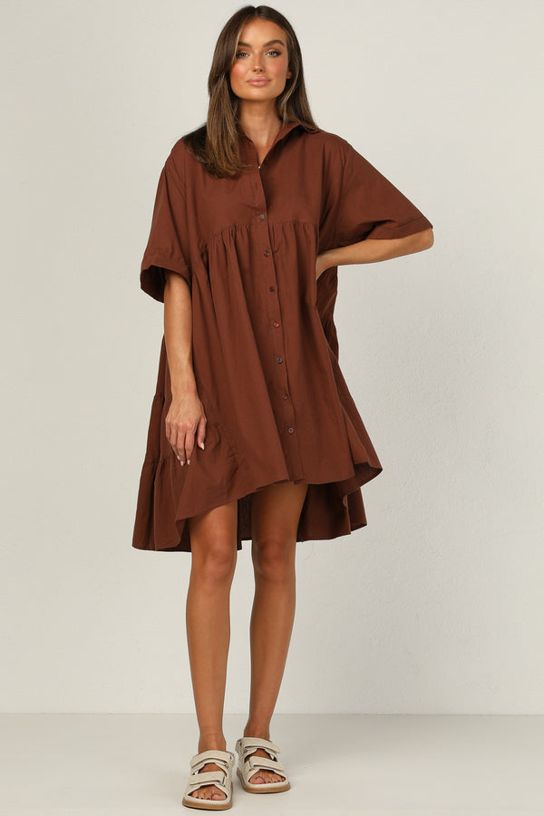 Cooper Dress (Chocolate)