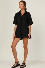 Wesley Playsuit (Black)
