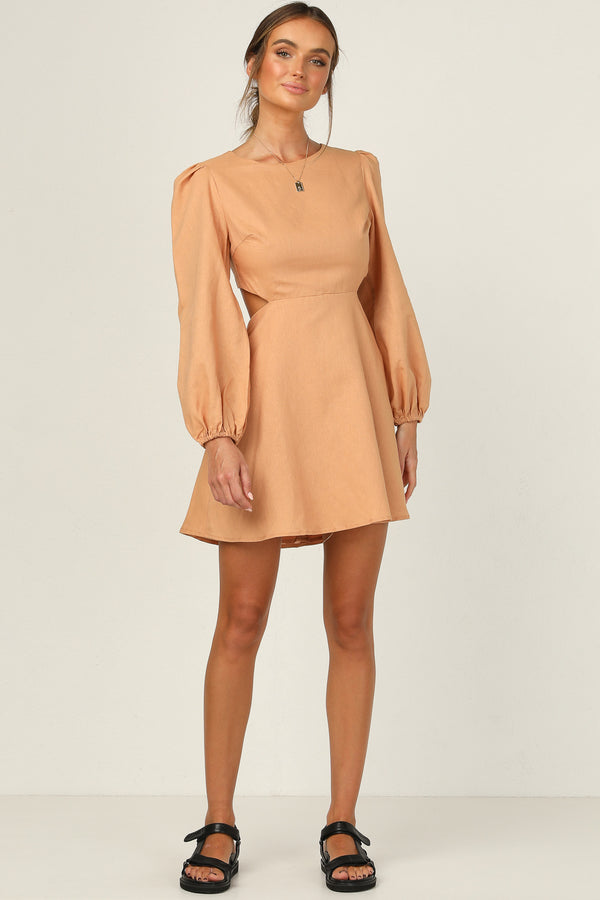 Soleil Dress (Tan)