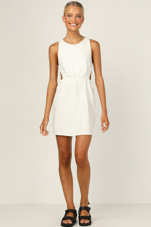 Botanica Dress (White)