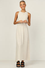 Evelyn Dress (Beige)