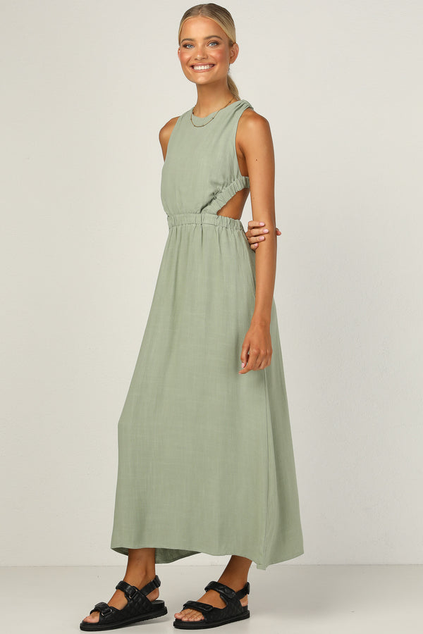 Evelyn Dress (Sage)