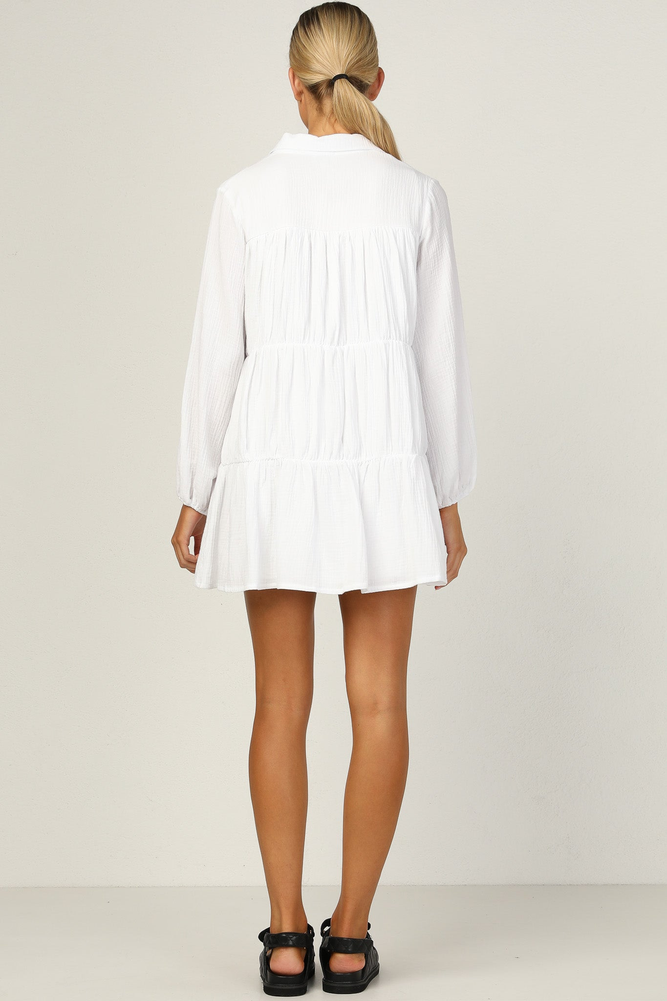 Fleming Dress (White)
