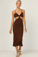 Carmen Dress (Chocolate)