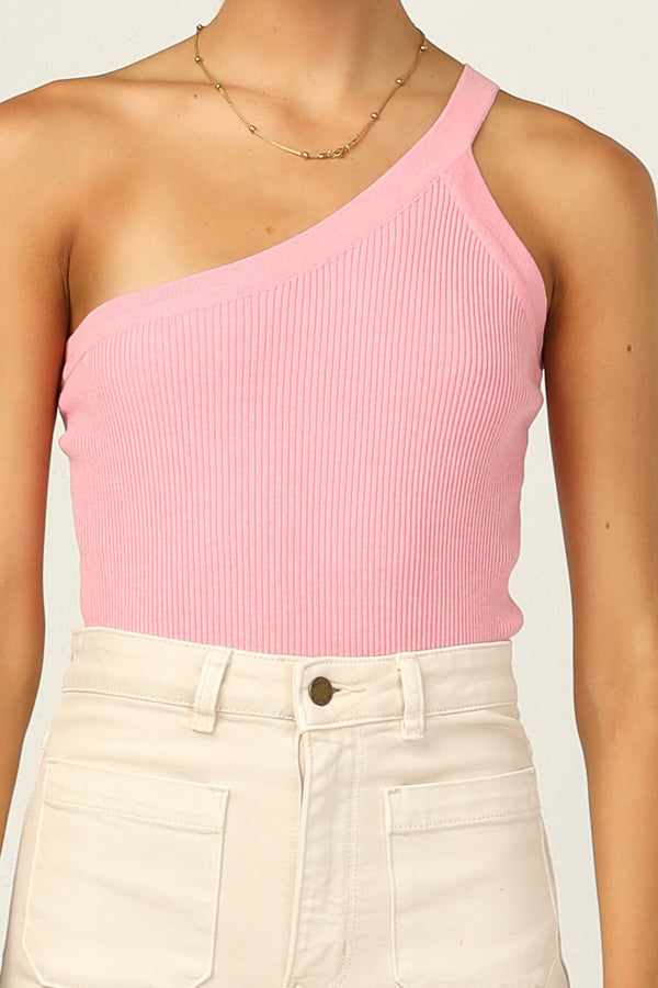 Hazel Knit Top (Pink)