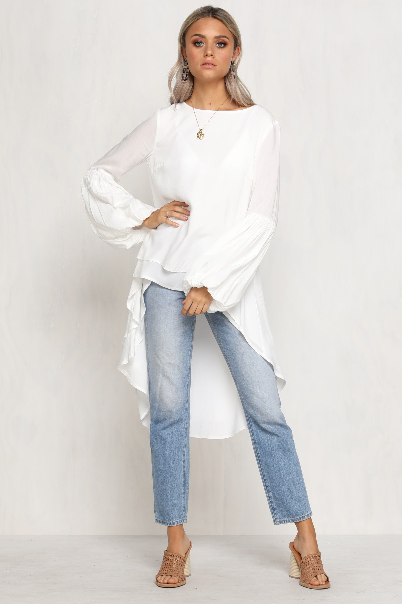 Heaven Sent Top (White)
