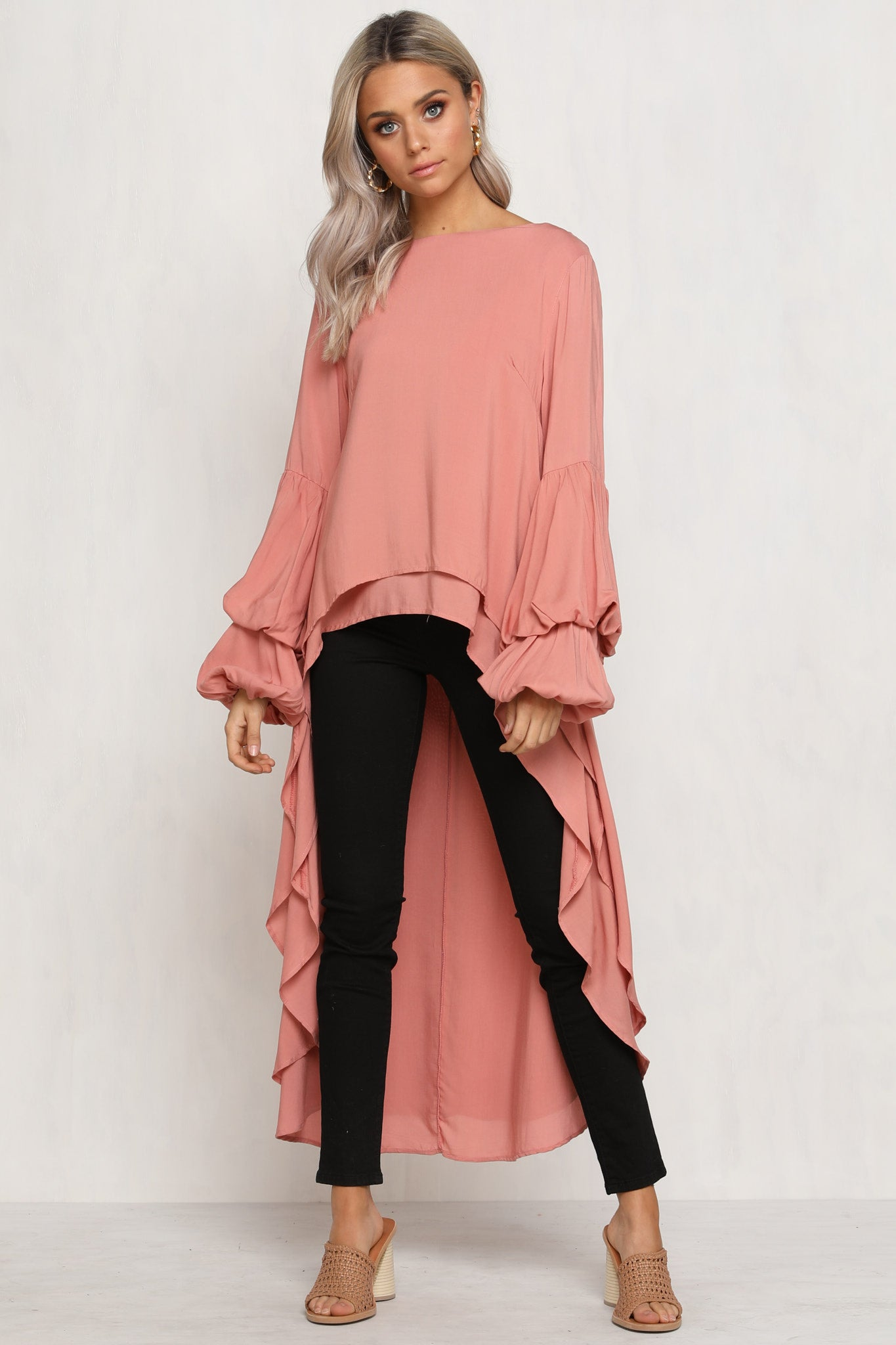 Hand In Hand Top (Peach)