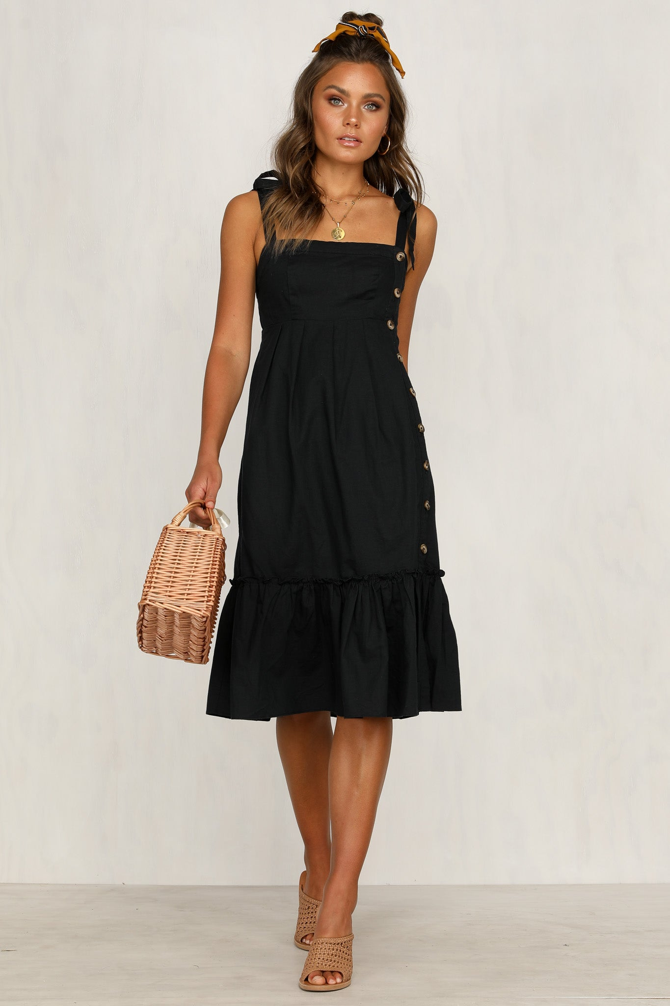 In The Moment Dress (Black)