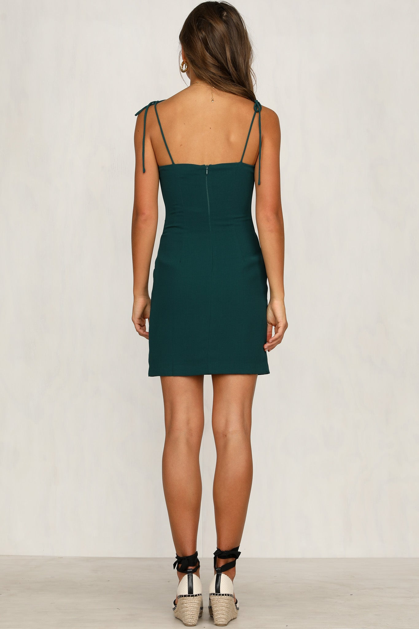 Follow Me Dress (Emerald)