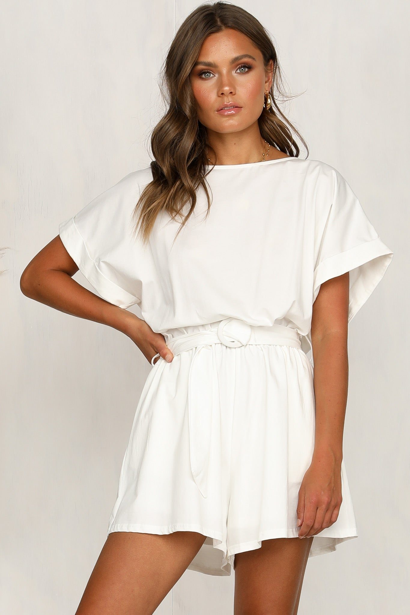 Lou Playsuit (White)