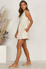 In My Eyes Dress (Beige)