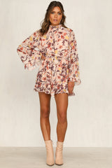Coming Up Rosy Playsuit