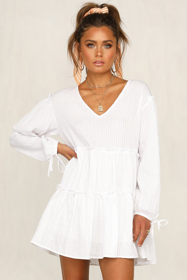 Love And Lost Dress (White)