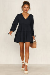 Love And Lost Dress (Navy)