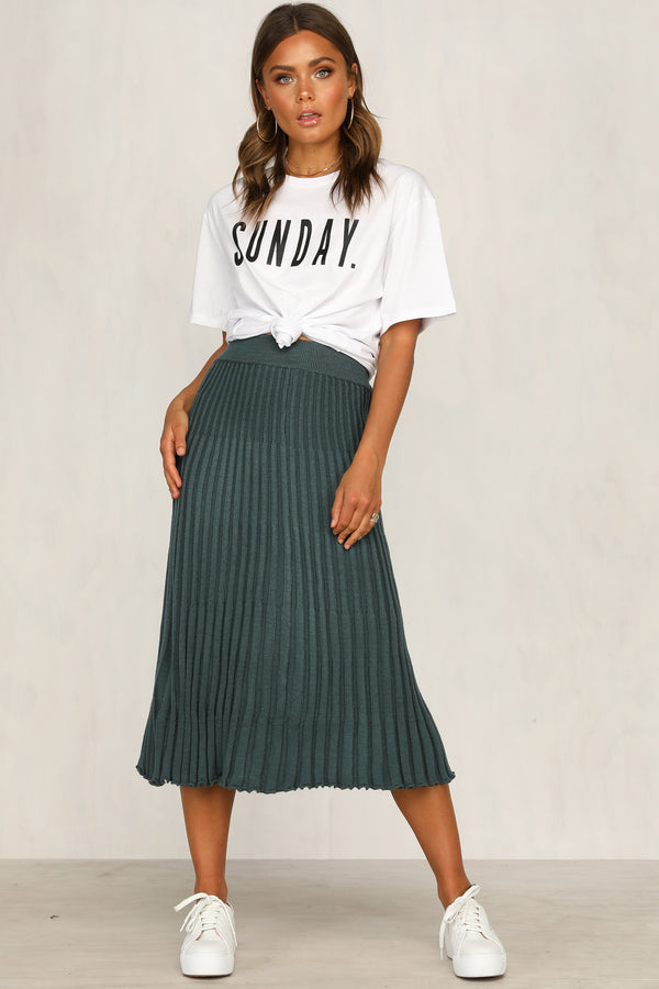 Left Behind Skirt