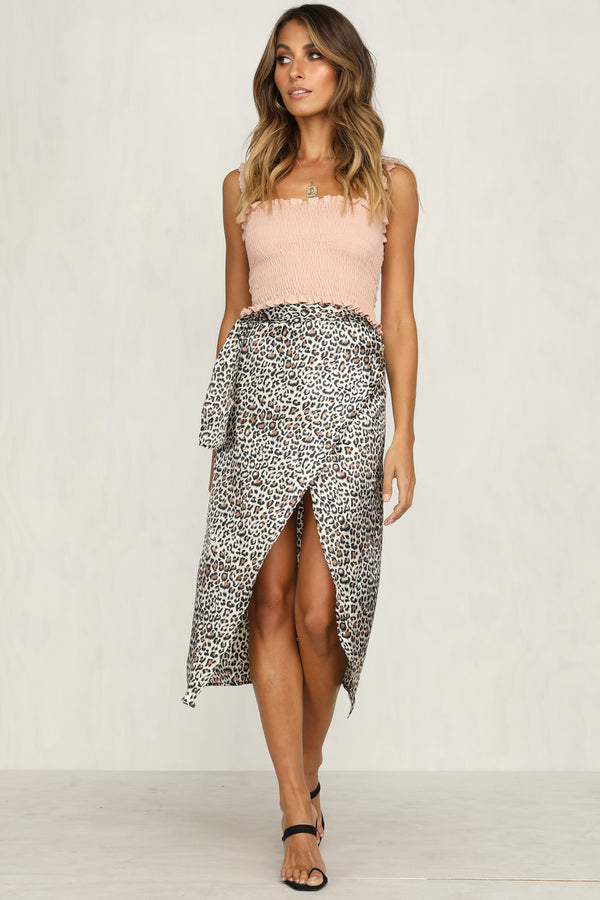 One Rule Skirt (Leopard)