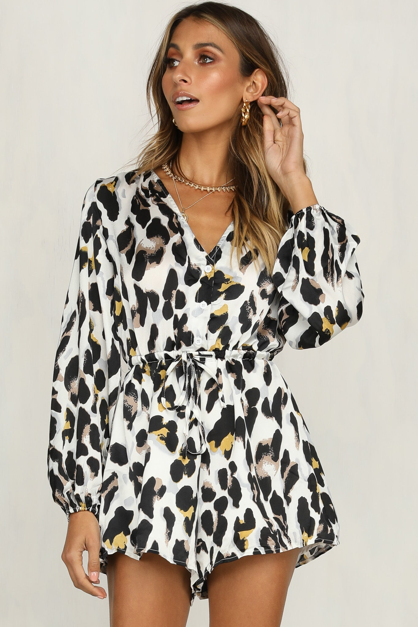 24776a47ba Bold Move Playsuit – RunwayScout