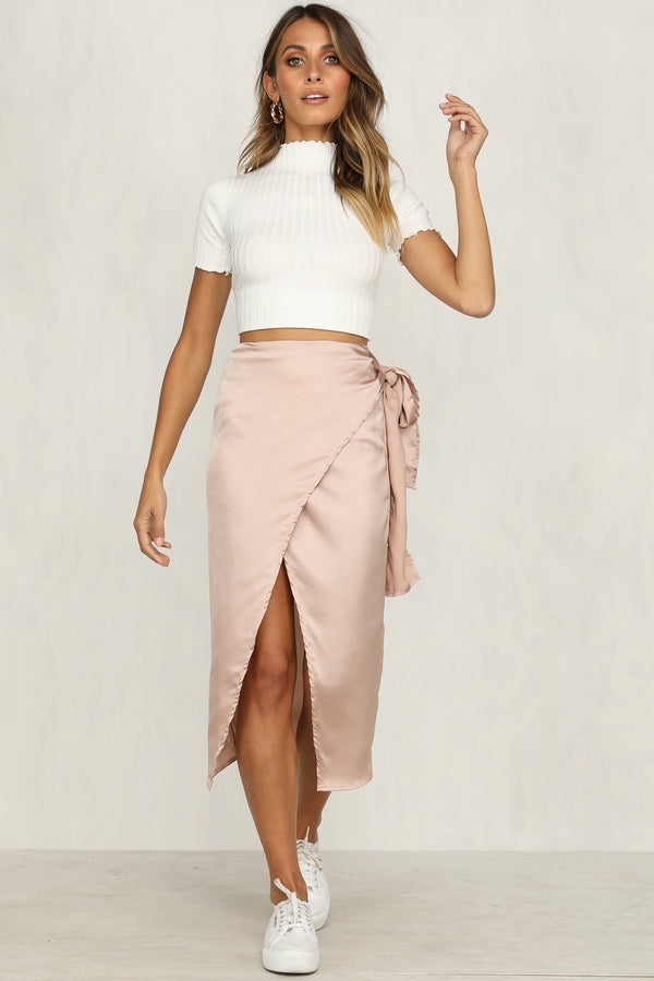 Gone In A Flash Skirt (Pink)